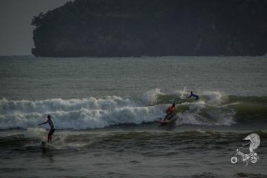 Surfers.