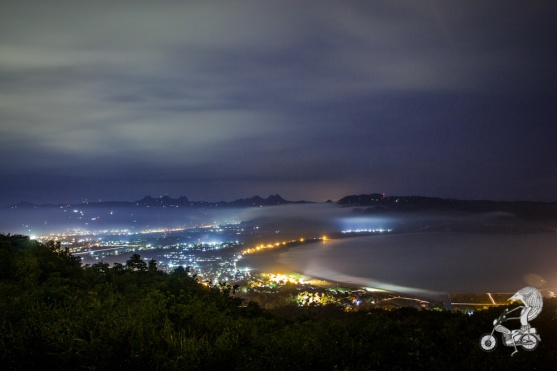 Pacitan by night.
